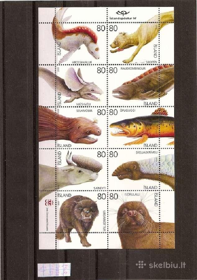 "Parduodu Islandijos pašto ženklus tema "" Fauna"":"