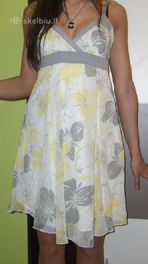 Lengva puošni vasariška suknelė