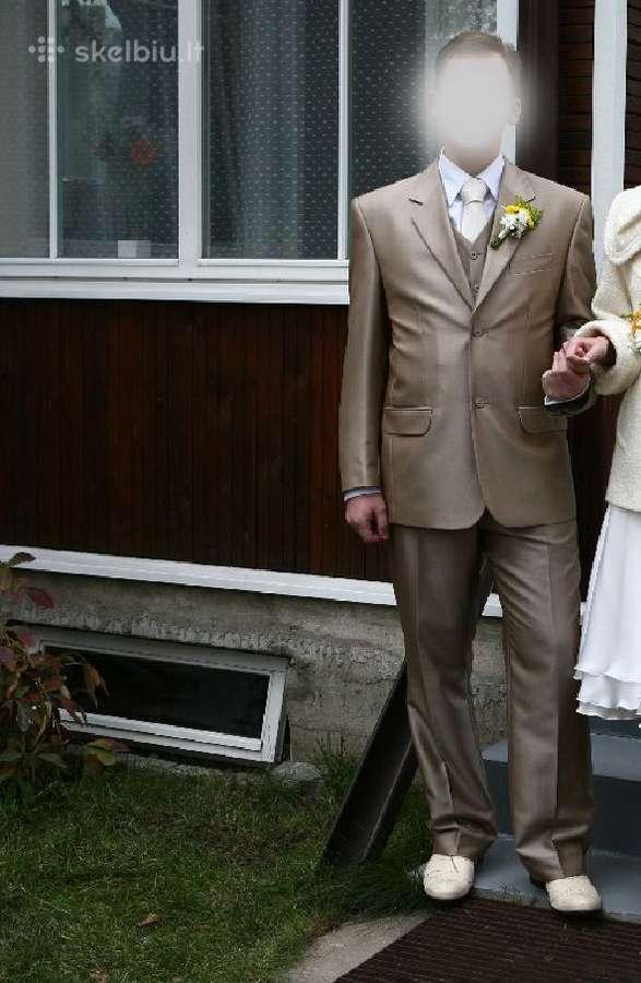 Vestuvinis kostiumas, puikios kokybes.