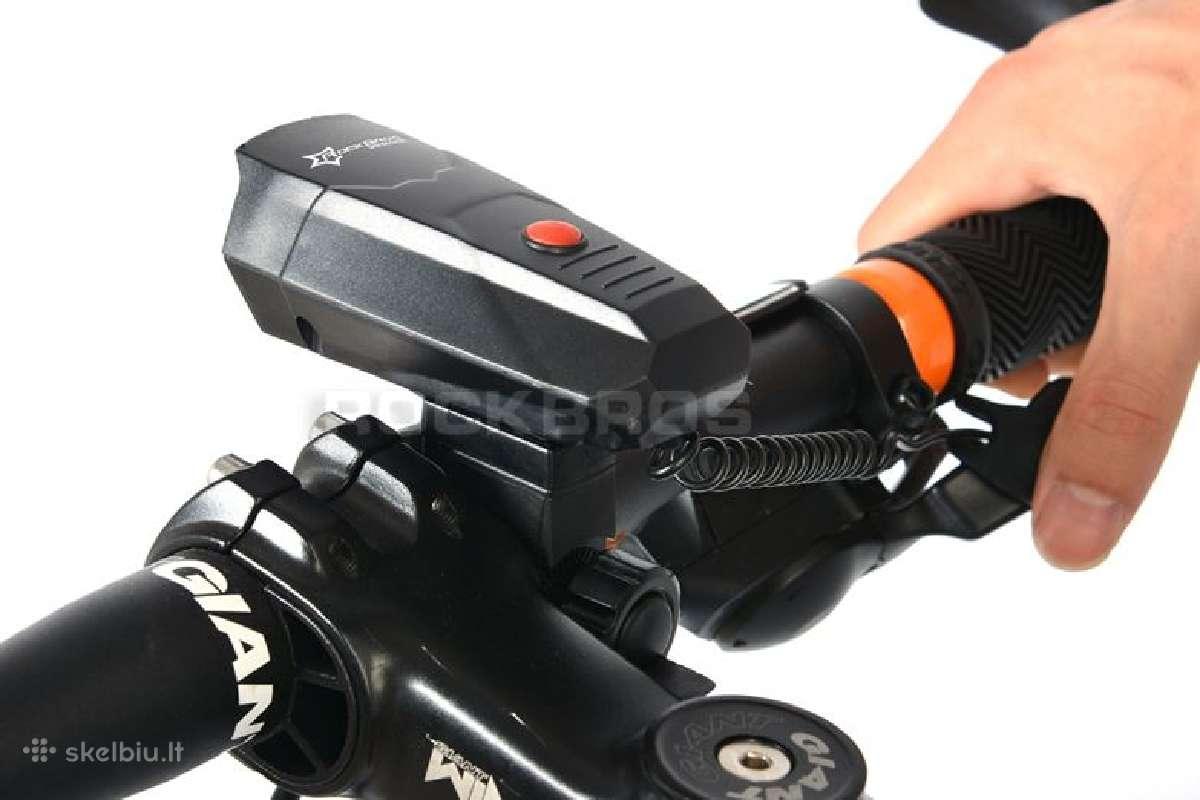 Labai garsus elektrinis dviračio skambutis