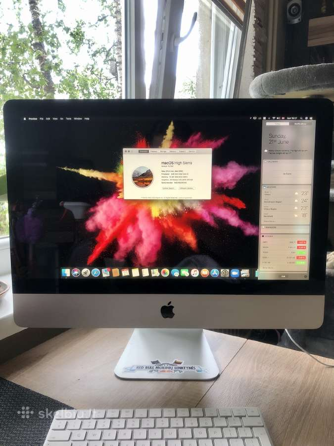 Apple iMac 21,5-inch, Mid 2010 i3 - Skelbiu.lt