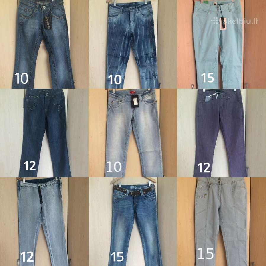 Parduodami nauji džinsai