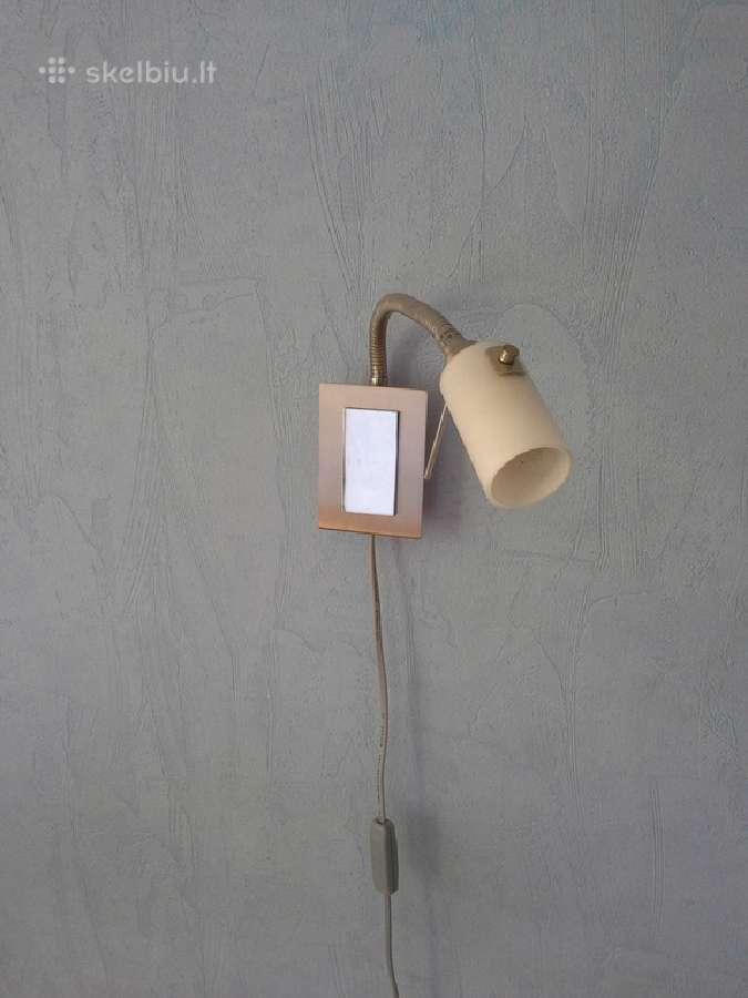 Įvairūs naudoti šviestuvai,gargždai