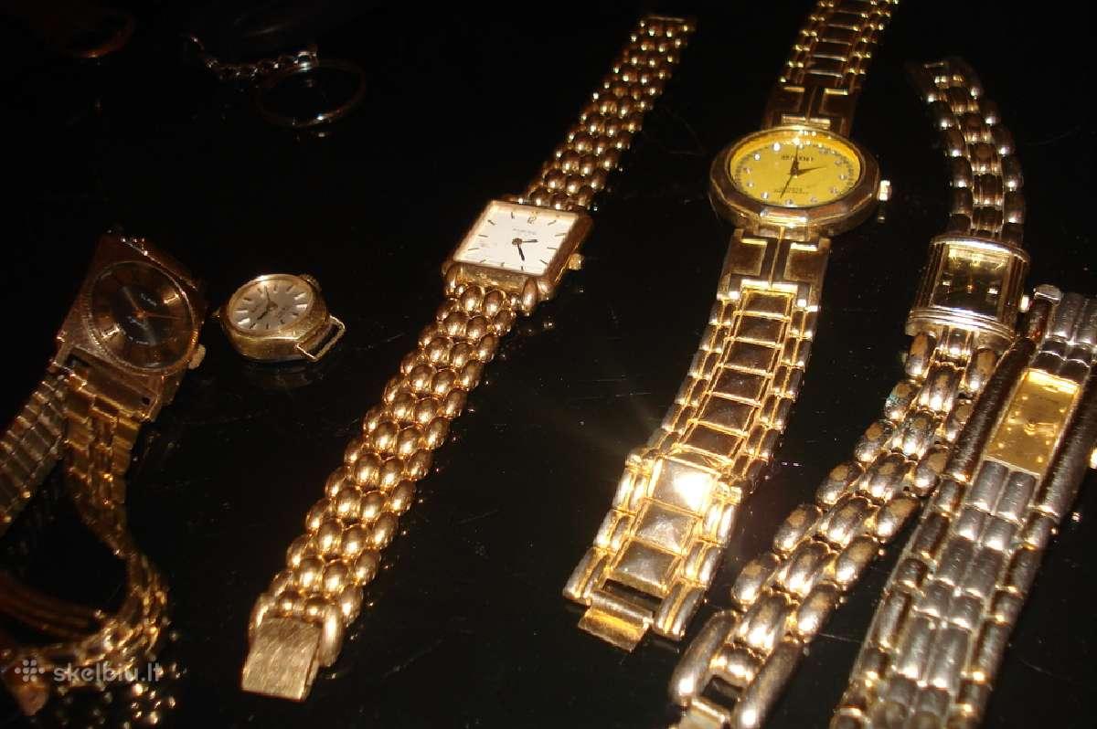 Įvairūs rusiški laikrodžiai