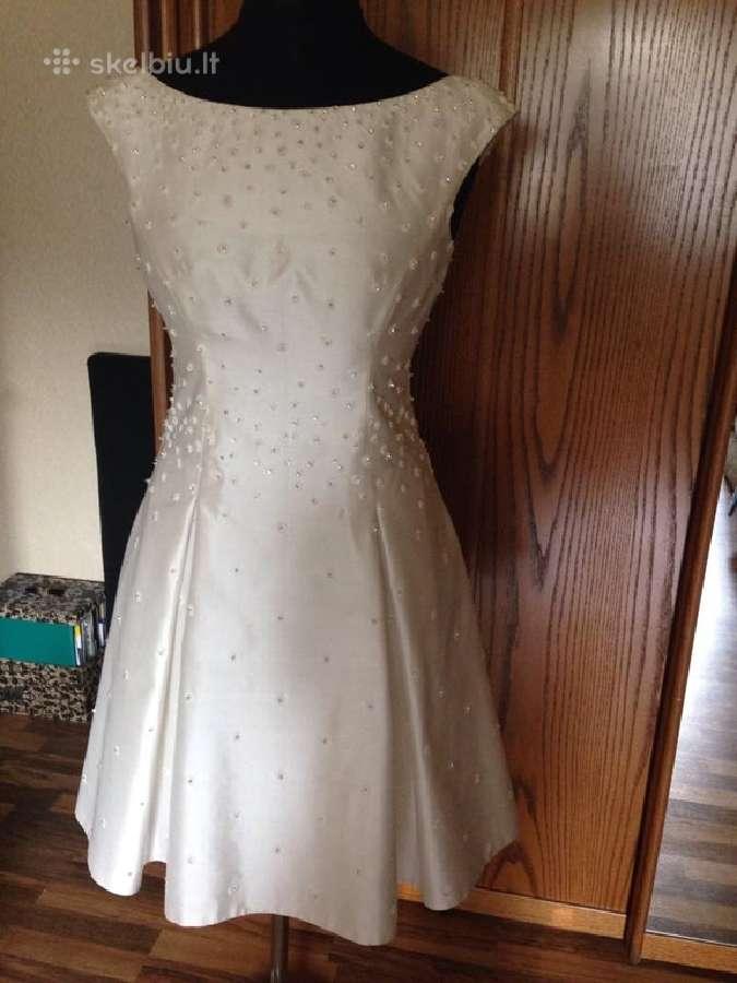 Išskirtinė vestuvinė-proginė suknelė