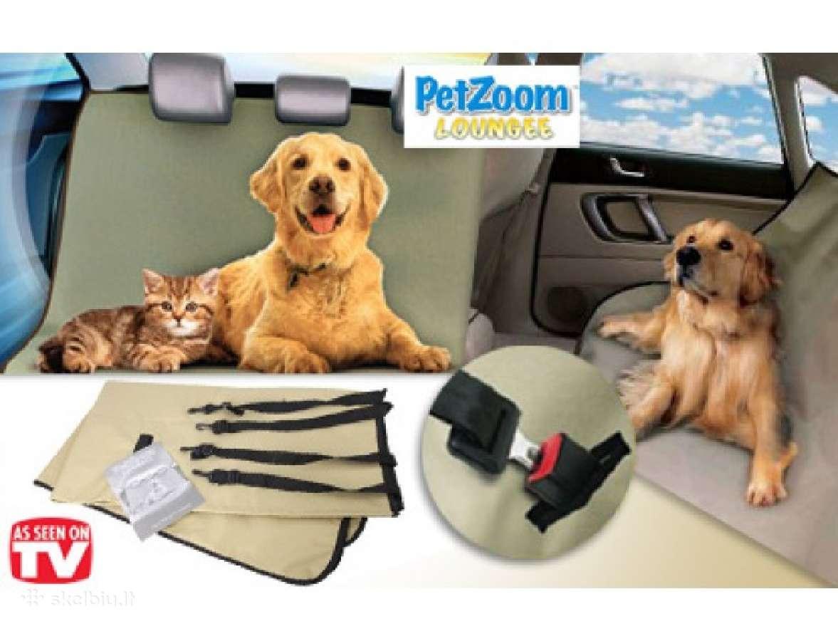 Automobilio galinės sėdynės užtiesalas šunims