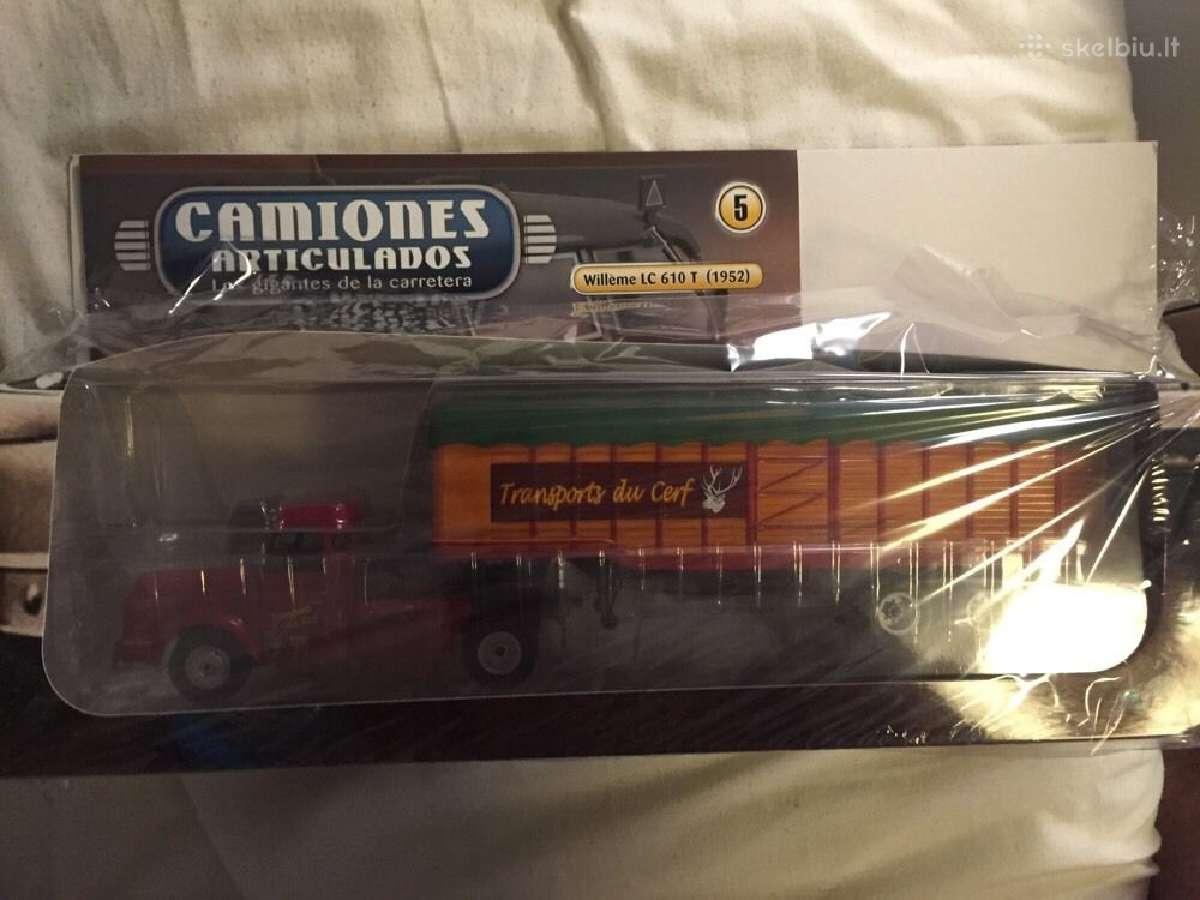 """Camiones Articulados"""