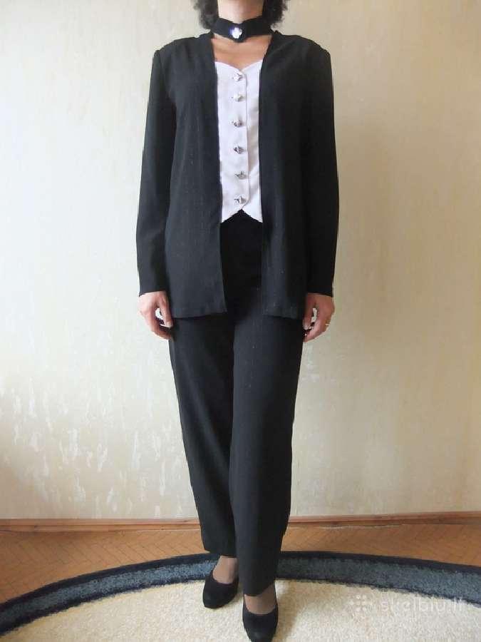 Klasikinis 3 dalių kostiumėlis