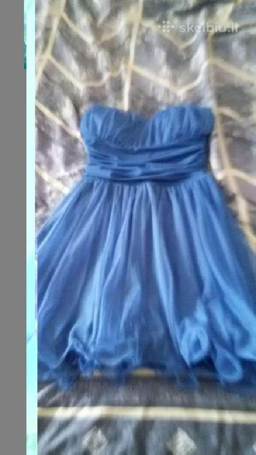 Graži rugiagėlių spalvos suknelė