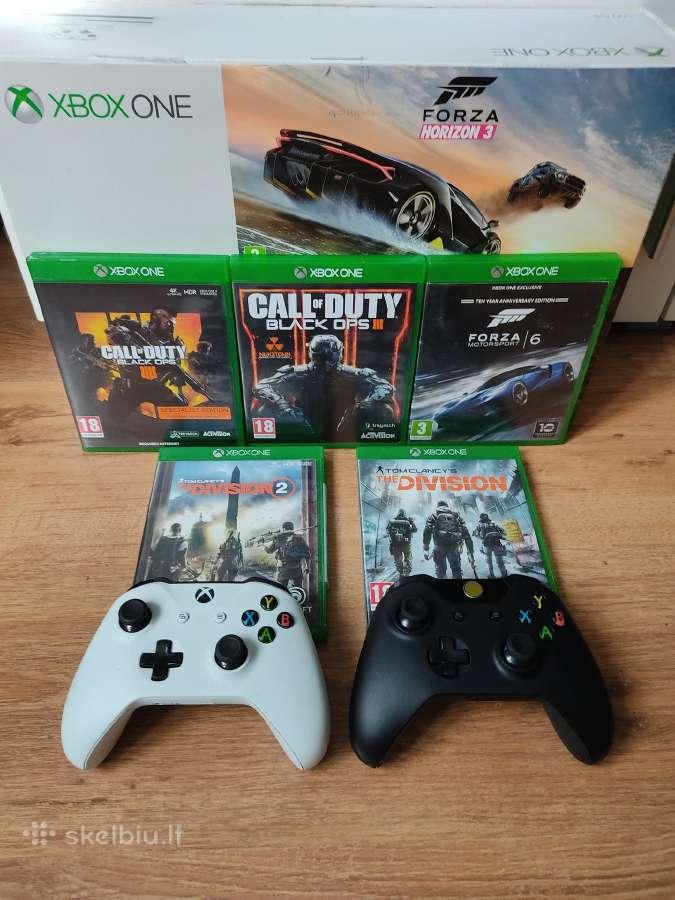 Xbox one s 5zaidimai 2pultai - Skelbiu.lt