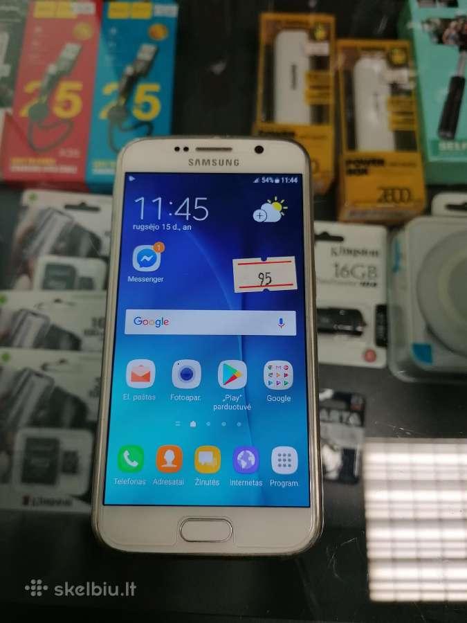 Samsung Galaxy S6 - Skelbiu.lt