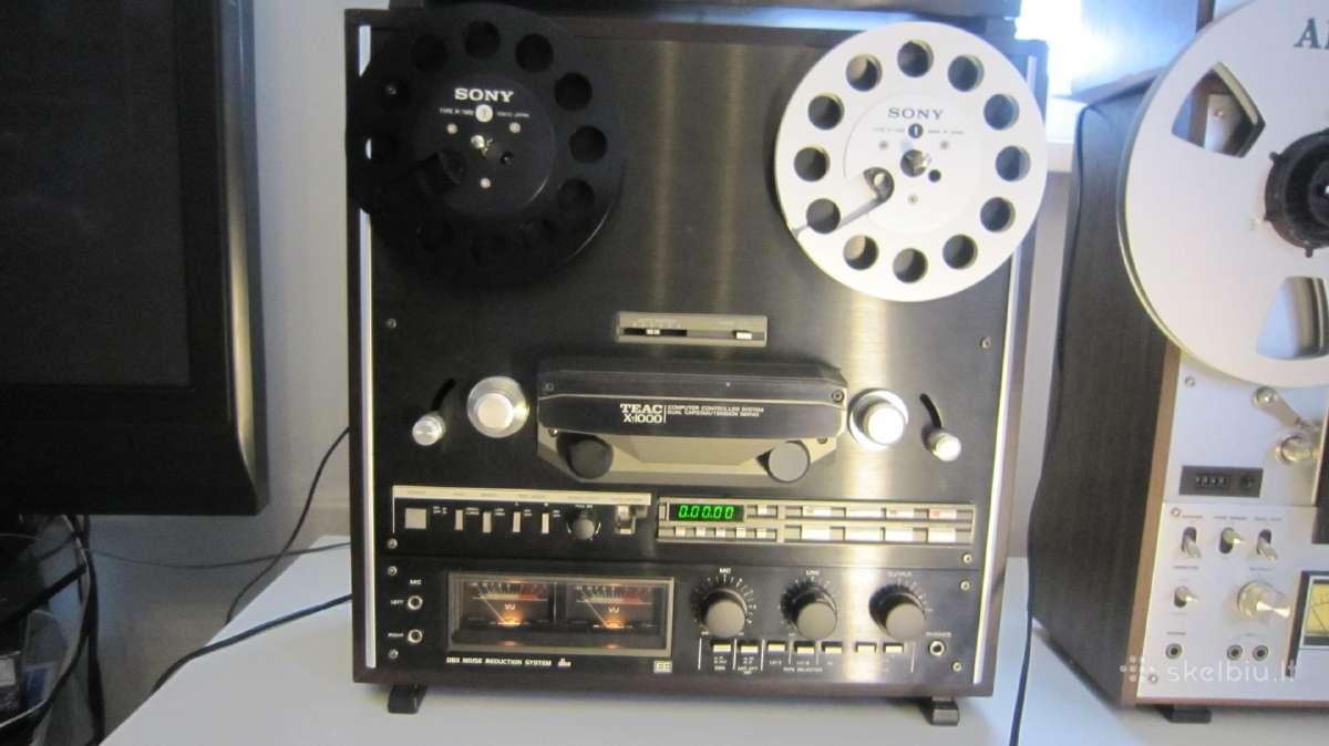 Juostinis magnetafonas Teac X 1000 - Skelbiu.lt