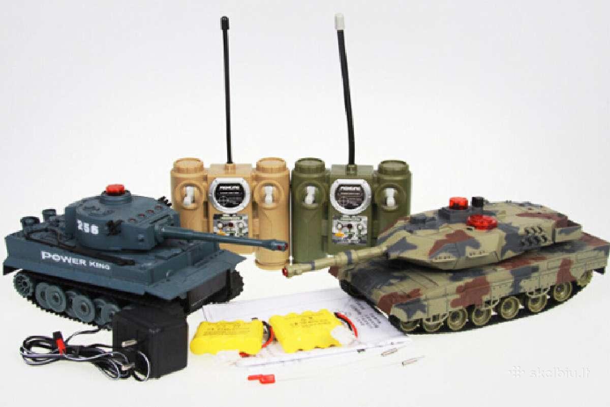 Rc Tankų Komplektas