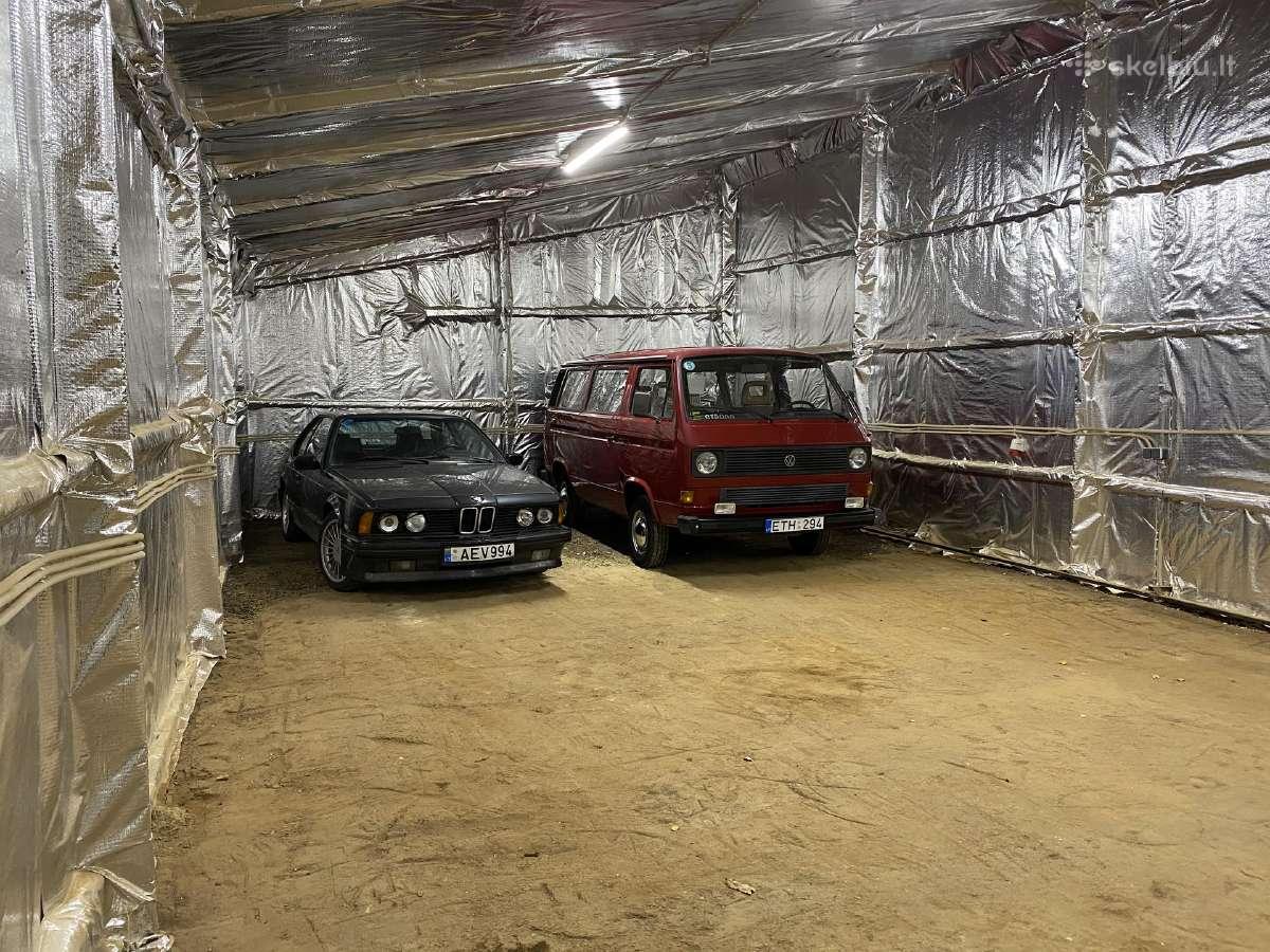Saugus garažas automobilių ir motociklų laikymui - Skelbiu.lt