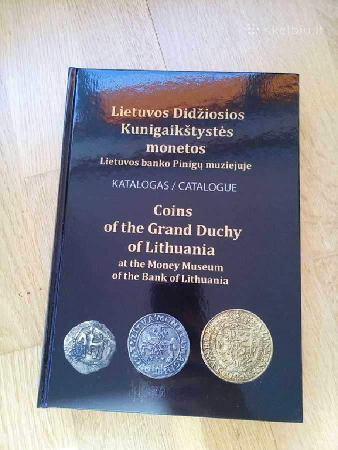Knyga/katalogas LDK monetos