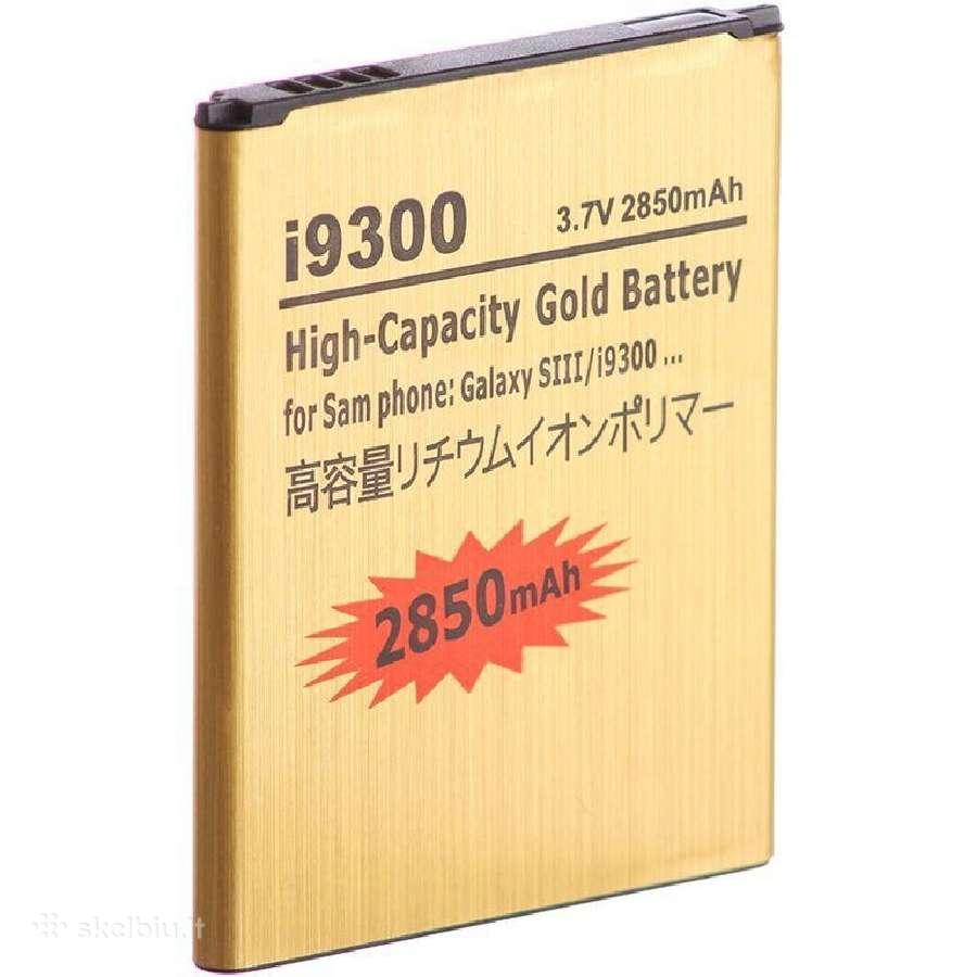 Samsung Galaxy S3 padidintos talpos baterija