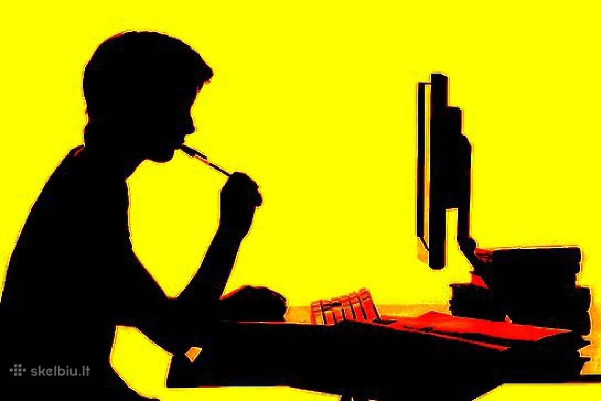 Renkame rašytojų kolektyvą, Darbas namuose