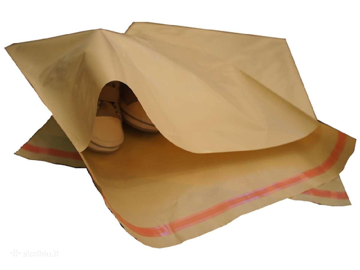 Kurjeriniai vokai maišeliai prekėms siųsti