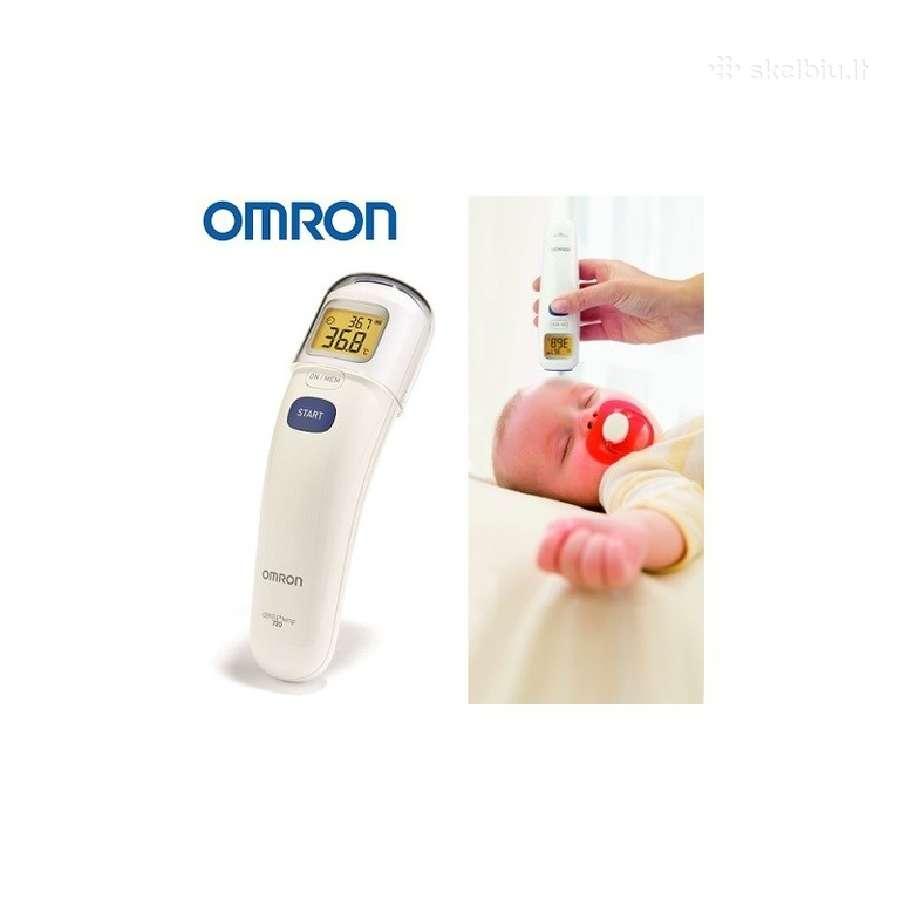 Japoniški Omron bekontakčiai termometrai - Su Lietuviška Instrukcija