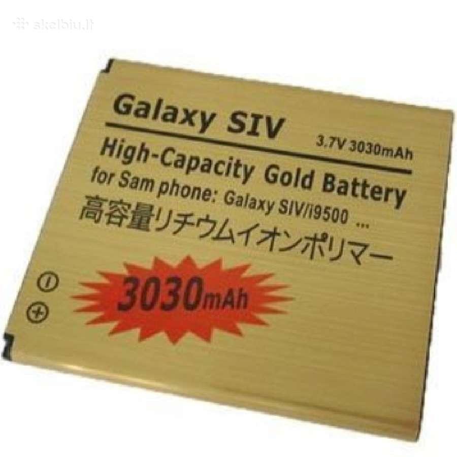 Galaxy S4 (i9500) padidintos talpos baterija