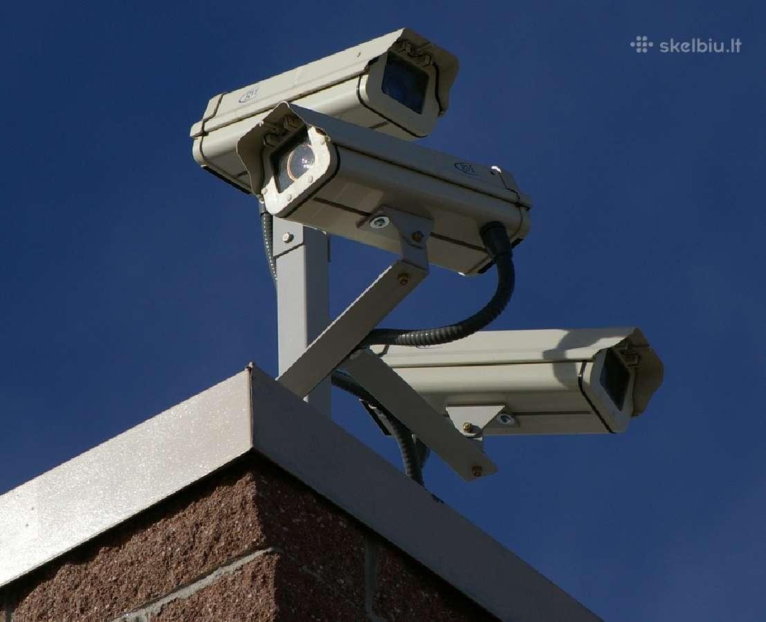 Montuojame,aptarnaujame vaizdo stebejimo sistemas