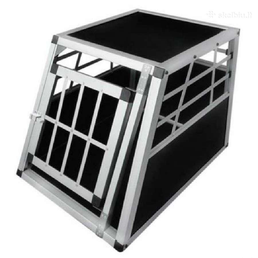 Aliumininiai transportavimo narvai šunims