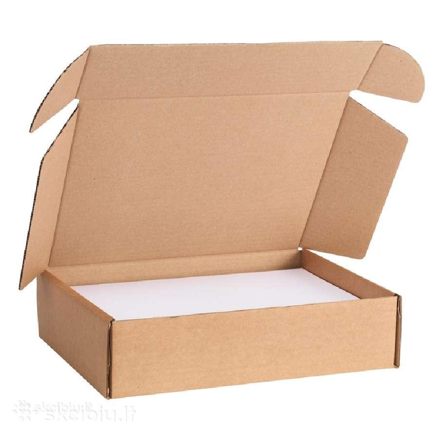 Nuolat superkame naudotas kartonines dėžes