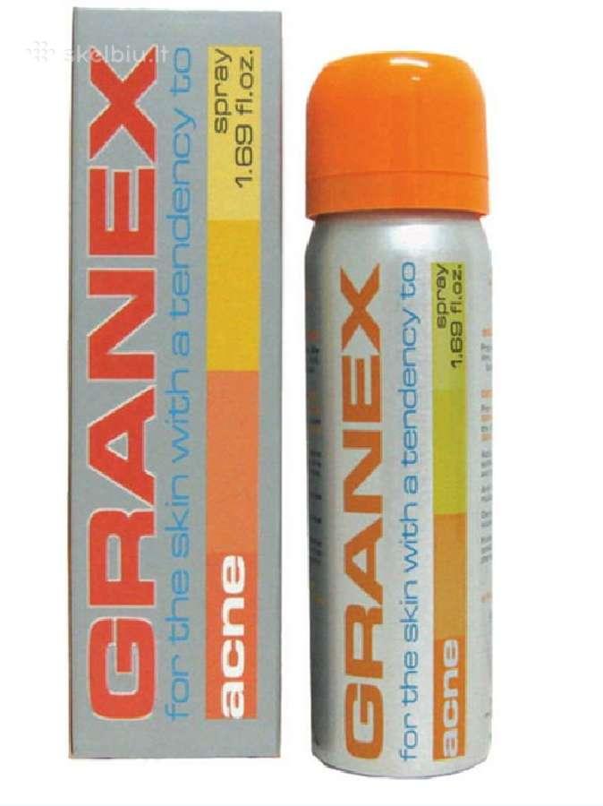 Granex aerozolis nuo spuogų