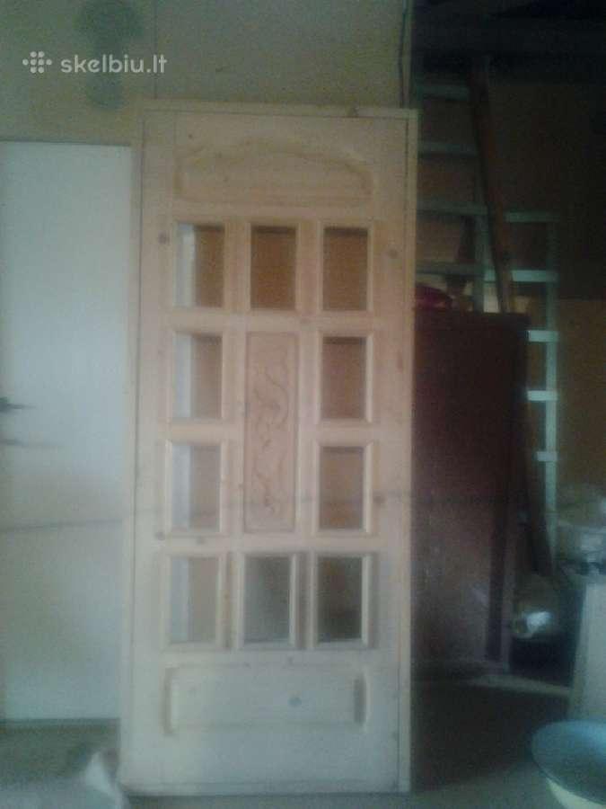 Pusines durys