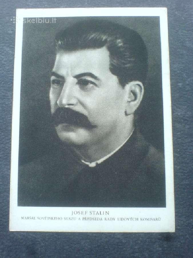 """,Josifas Stalinas"""" atvirukas"""