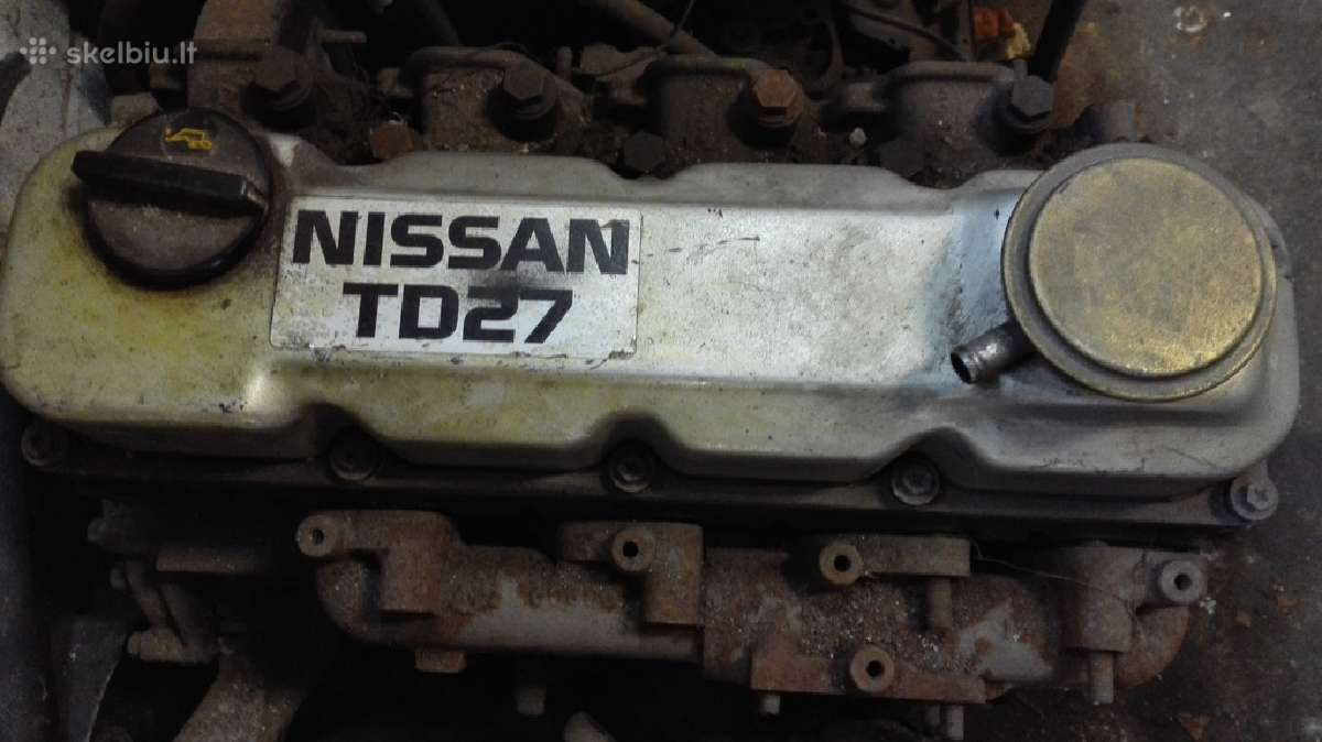 Nissan Terrano2 variklis,1997m. 2,7turbo dyzelis