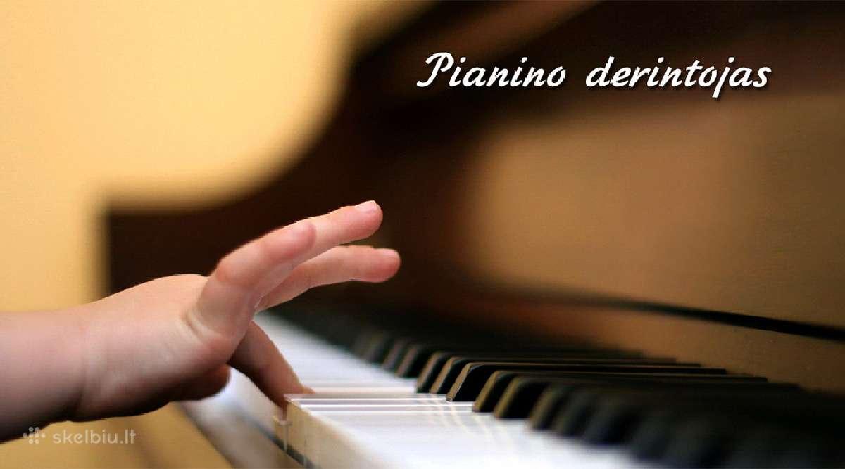Pianino derinimas ir remontas