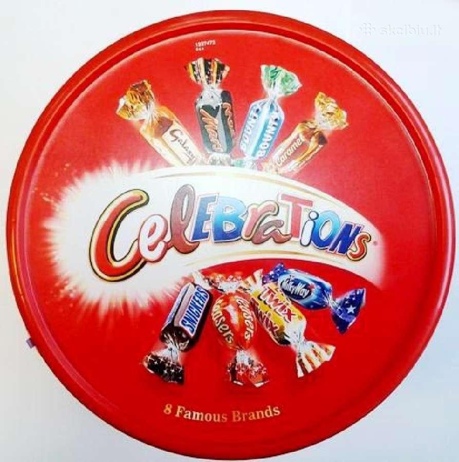 Angliski saldainiai- Celebrations, Heroes, Quality
