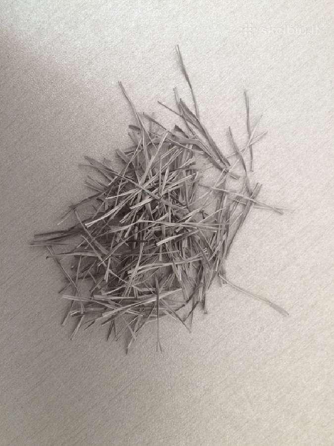 Fibra, polipropileninis plausas, metaline fibra