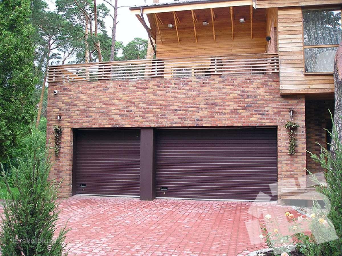 Automatiniai ir mechaniniai garažo vartai