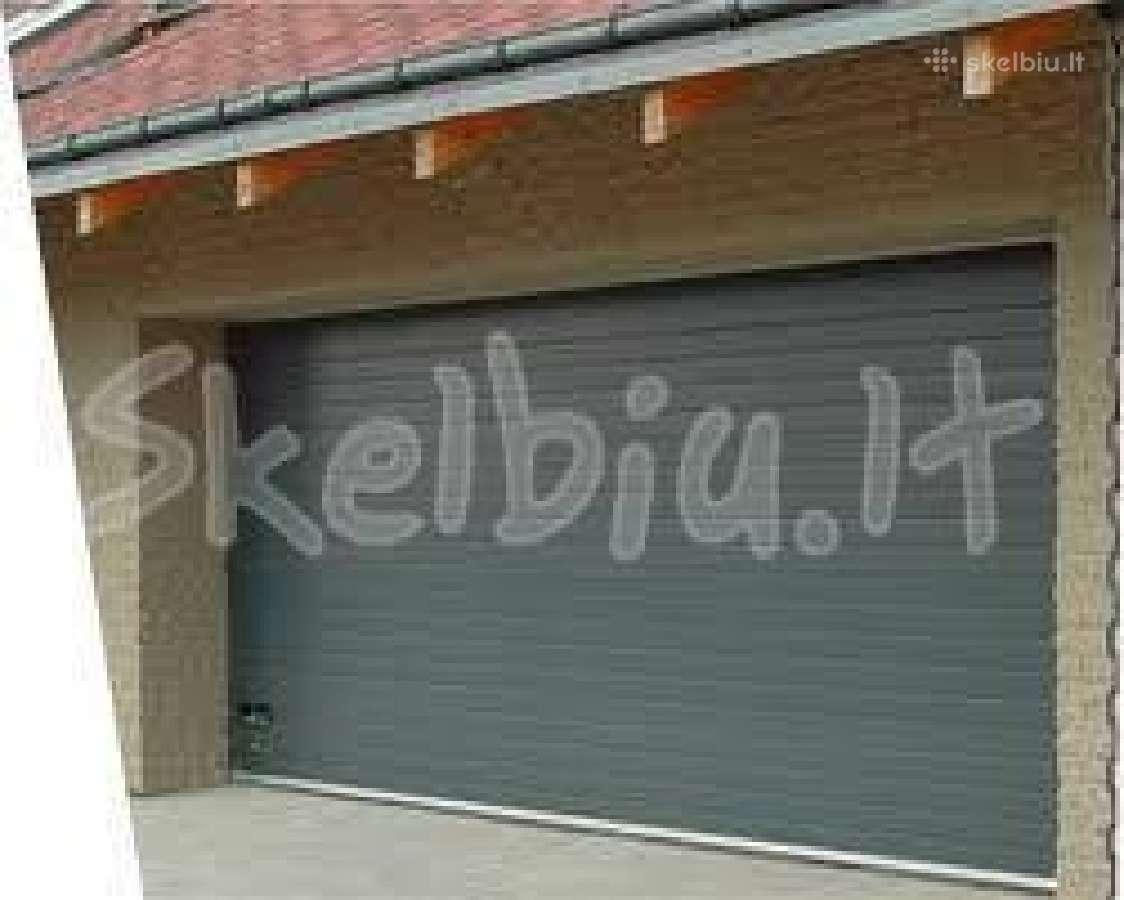 Akcija-išpardavimas pakeliamiems garažo vartams
