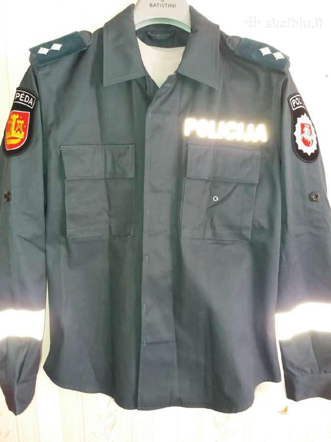 Lietuvos policijos pareigūno bliuzonas, kelnės . - Skelbiu.lt