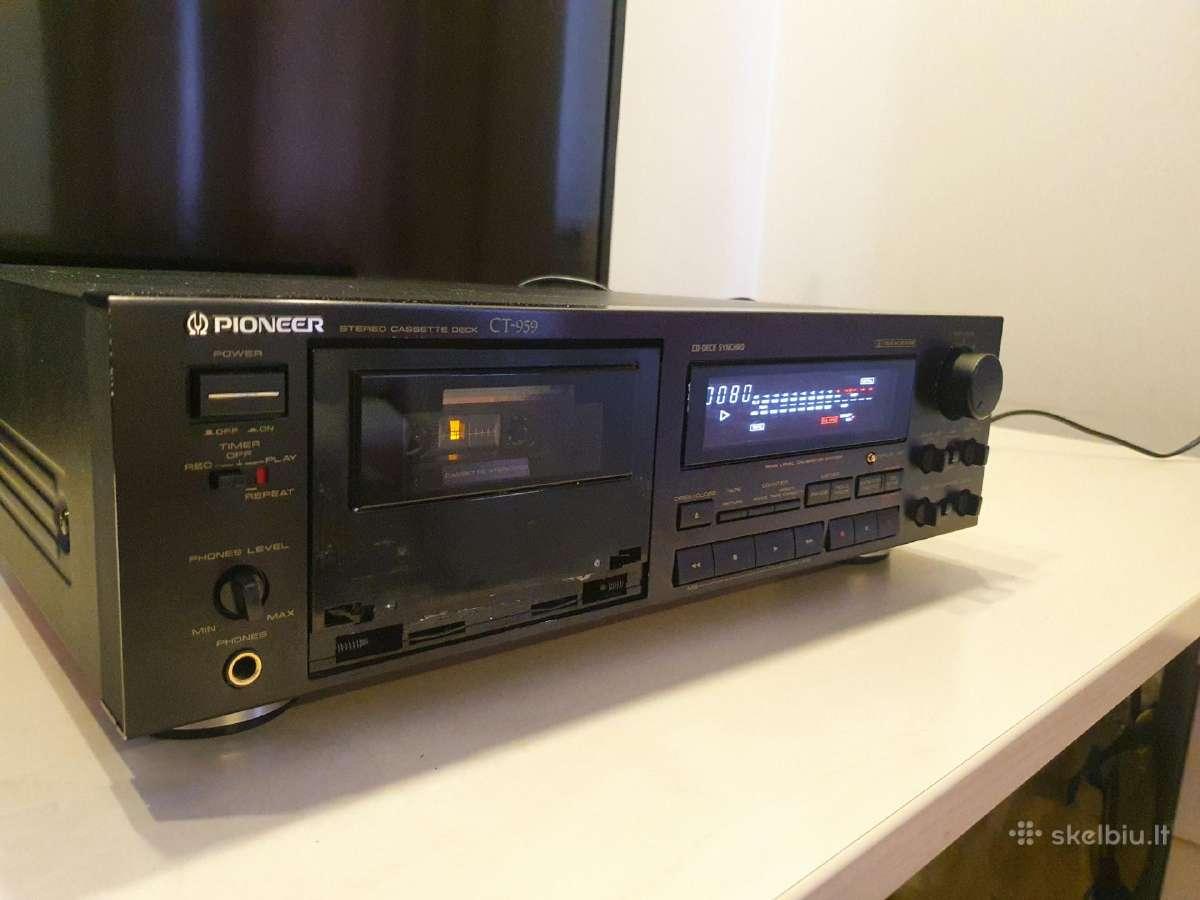 Pioneer Ct-959 referencinė deka - Skelbiu.lt