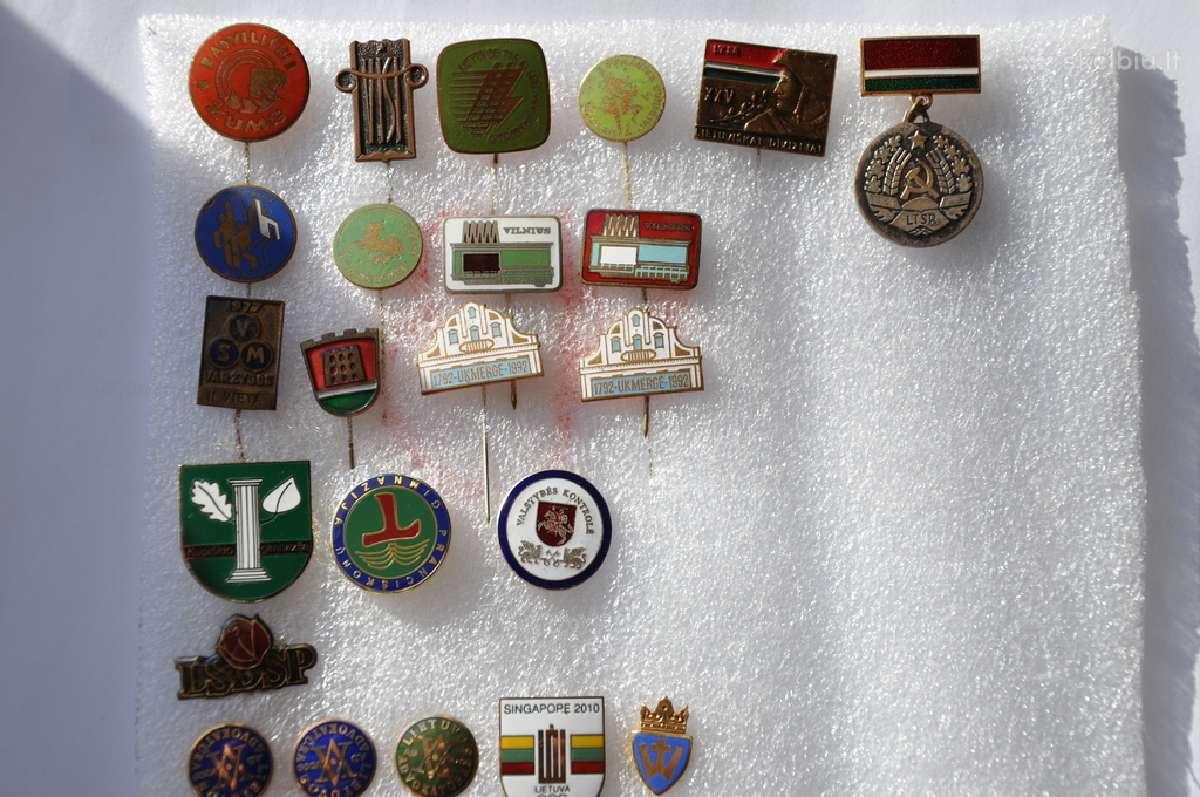 Perku ženkliuku kolekcijas, apdovanojimus