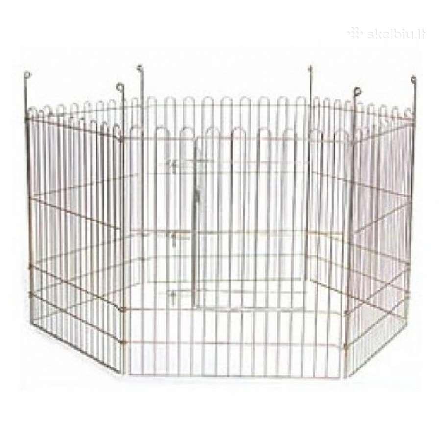 Naujos Metalinės cinkuotos tvorelės 8 dalių