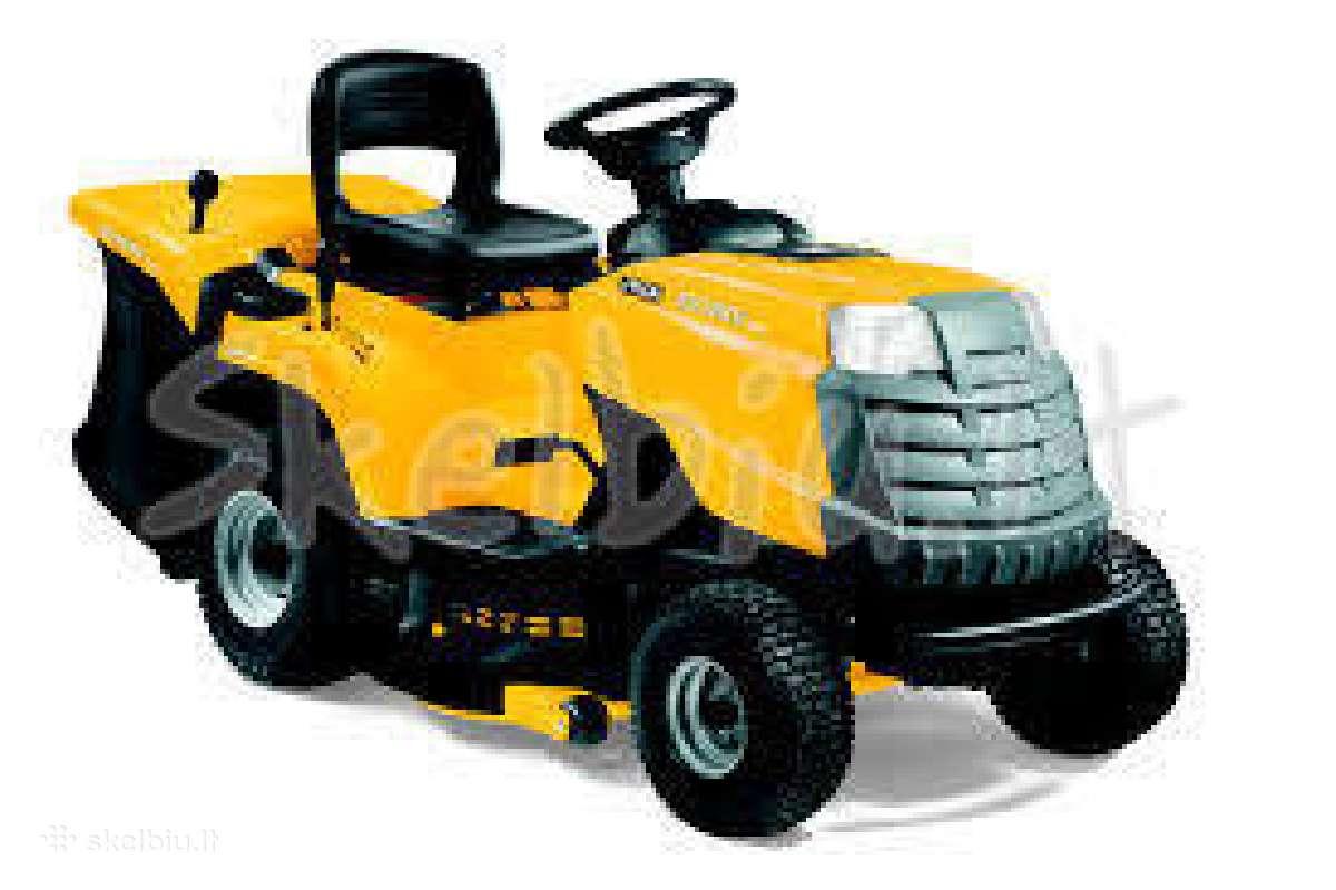 Remontuoju traktoriukus,žoliapjoves,benzopjūklus.