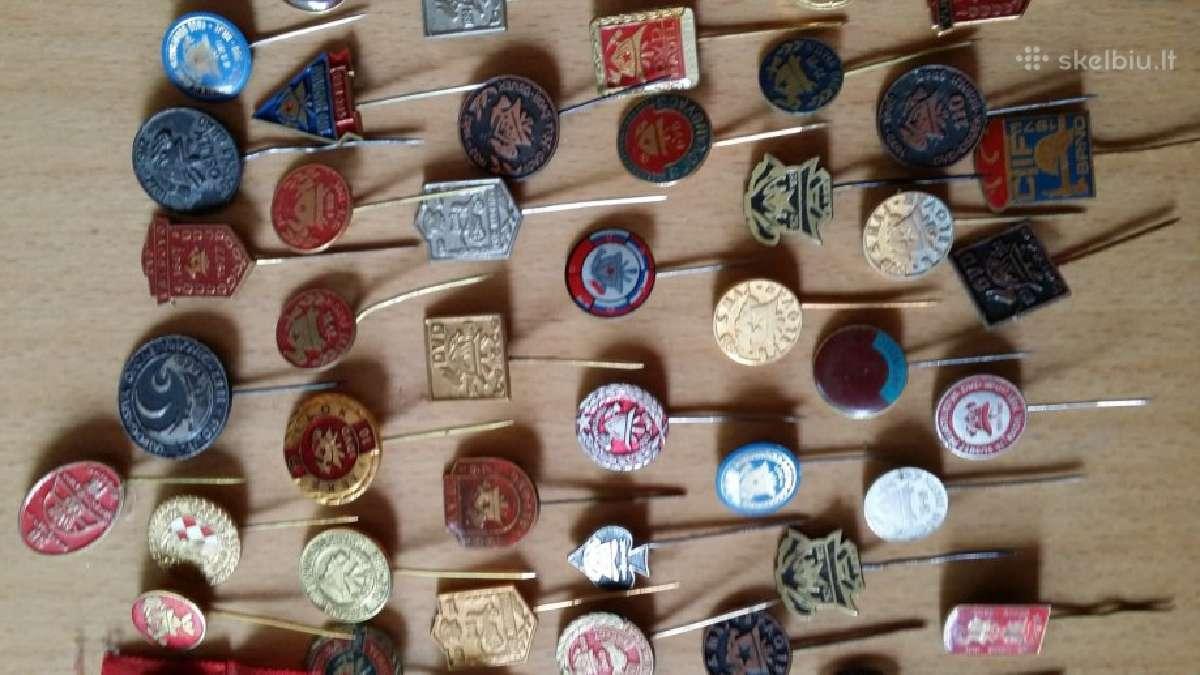 Perku ženkliukus, ženkliuku kolekcijas