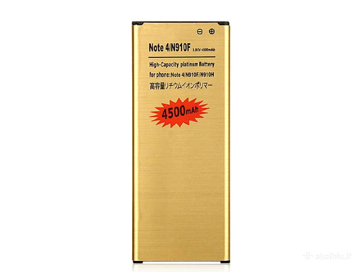 Samsung Galaxy Note 4 padidintos talpos baterija