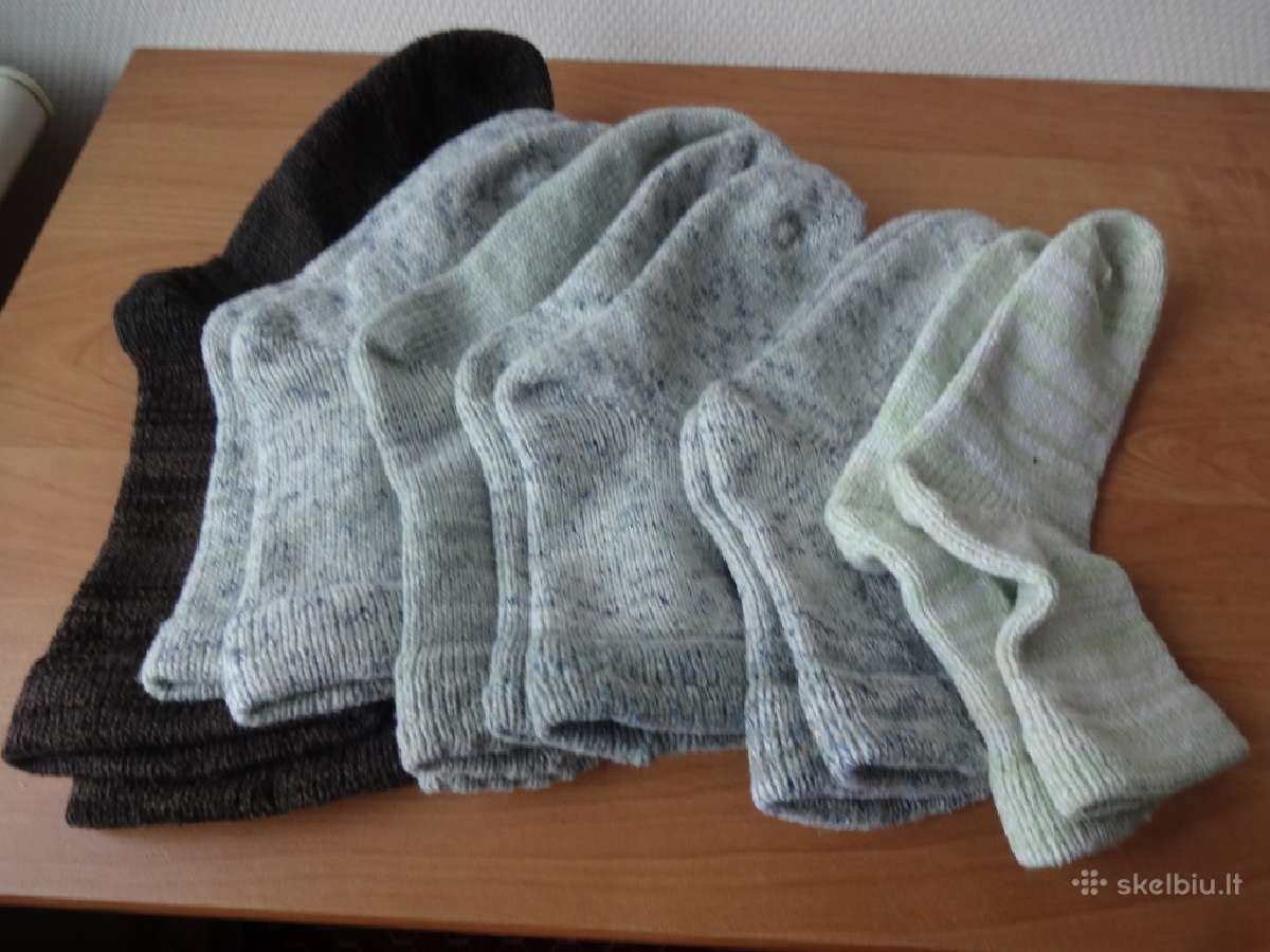 Vilnonės kojinės