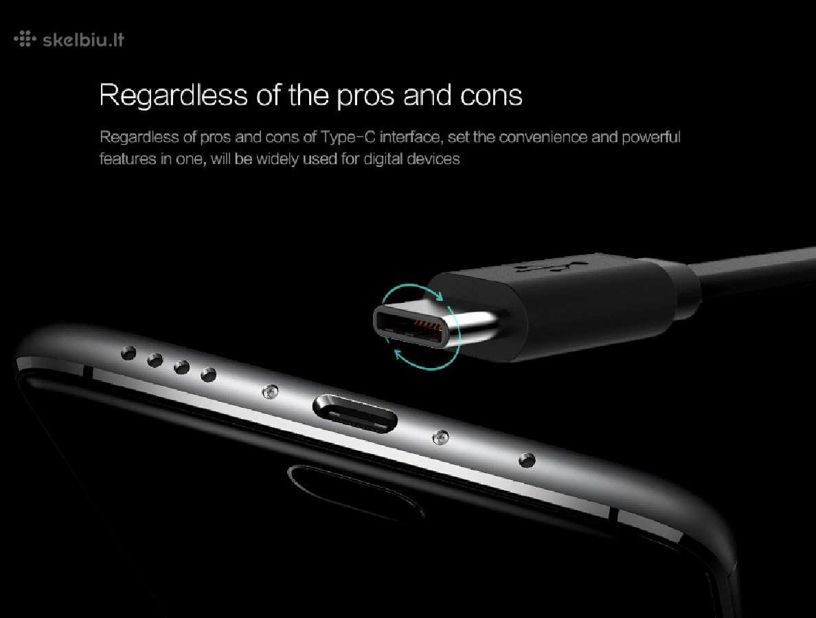 Naujieji Usb Type-c Usb-c kabeliai telefonams