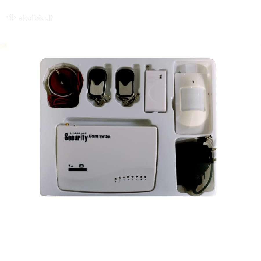 Gsm signalizacija, Gsm apsaugos sistema
