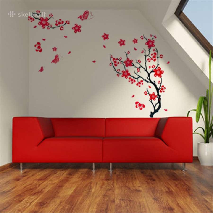 Sienų dekoravimas lipdukais