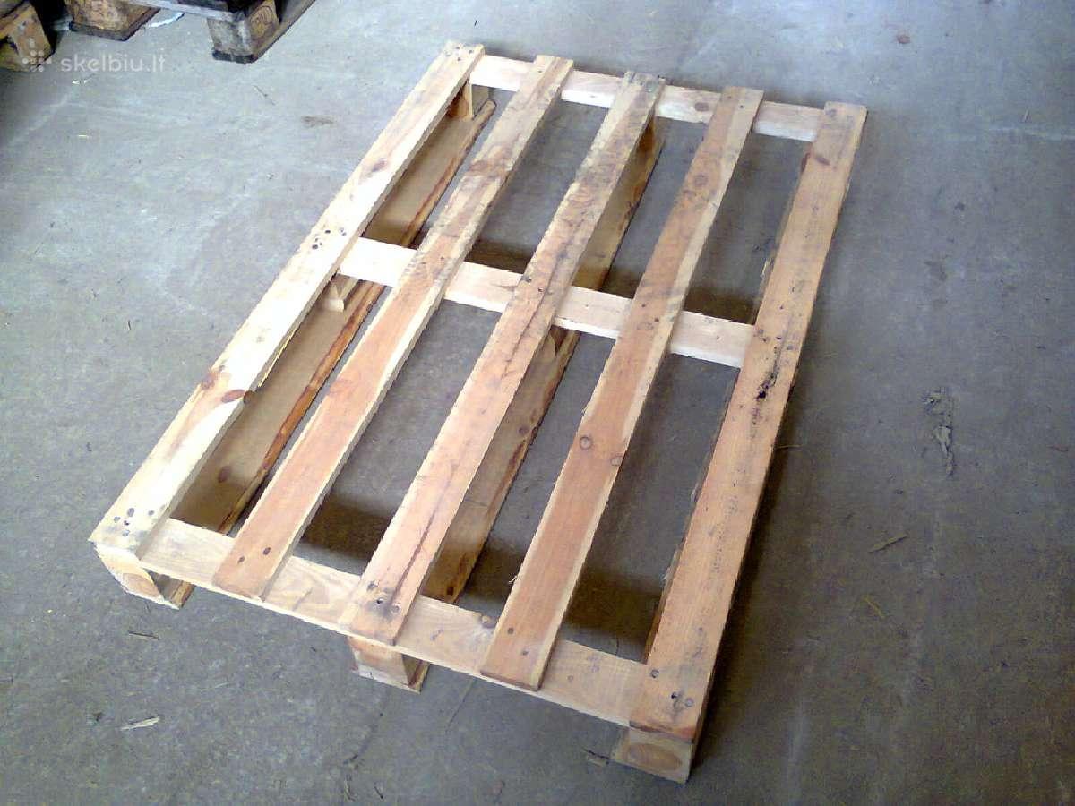 Mediniai padeklai - naudoti padeklai