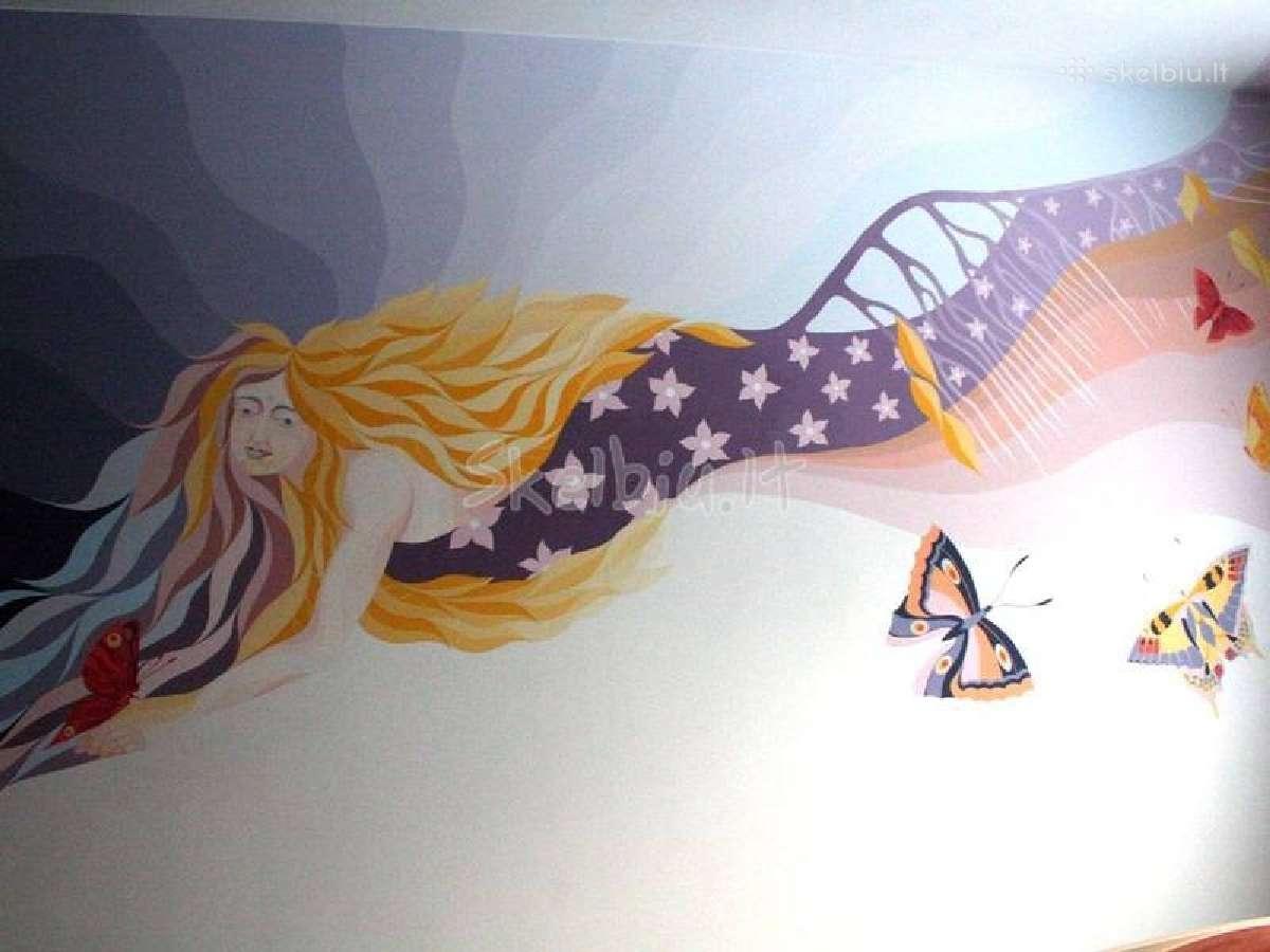 Apdaila, sieninė, tapyba, dekoras, dizainas.