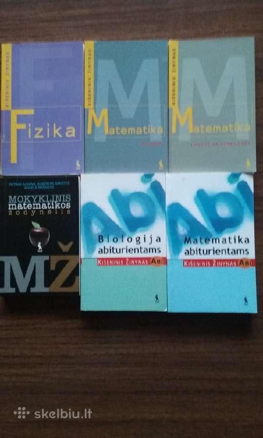 Įvairūs vadovėliai ir kitos knygos